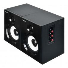 Комплект акустики Hyundai H-HA120 2.0 35Вт черный (в комплекте: 2 колонки)