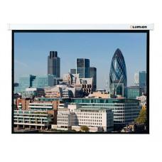 [LMC-100103] Экран с электроприводом Lumien Master Control 203x203 см Matte White FiberGlass черн. к