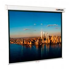 [LMP-100102] Настенный экран Lumien Master Picture 153х153 см Matte White FiberGlass, черн. кайма по