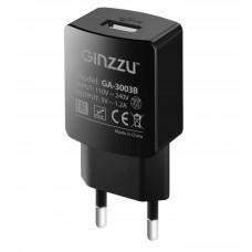 Сетевое зарядное устройство GINZZU GA-3003B черный