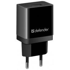 Сетевая зарядка Defender EPA-10 черная