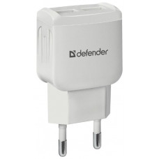 Сетевая зарядка Defender EPA-13 белый