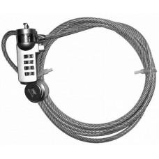 Трос безопасности NCL-102 для защиты ноутбуков с кодовым замком Cable Lock
