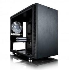 Корпус Fractal Design Define Nano S Window черный без БП miniITX 4x120mm 3x140mm 2xUSB3.0 audio bott
