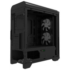 Корпус GameMax H601 Black mATX, Midi-Tower, без БП, с окном, USB 2.0, USB 3.0, Audio