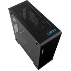 Корпус GameMax Vega Perspex Black E-ATX, ATX, mATX, Mini-ITX, Full-Tower, без БП, с окном, 2xUSB 2.0, 2xUSB 3.0, Audio