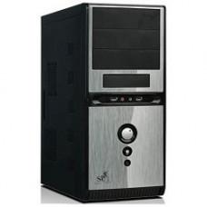 Корпус MidiTower QoRi-3336 A11 (черно-серый) (450W) USB/Audio/SATA ATX (front panel metall)