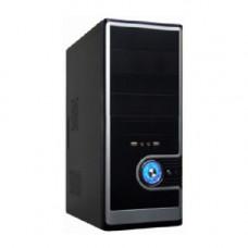 Корпус Miditower SP Winard 3029 C 450W black/silver 2*USB 2*Audio 24pin ATX