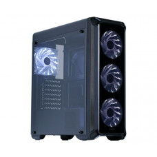 Корпус Zalman i3 edge черный без БП ATX 3x120mm 2xUSB2.0 1xUSB3.0 audio bott PSU