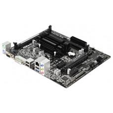 Материнская плата Asrock D1800M + Celeron J1800 2xDDR3, Intel HD Graphics, 5.1CH, 1000 Мбит/с, USB3.0, D-Sub, DVI, HDMI, mATX RTL