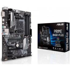 Мат. плата ASUS PRIME B450-PLUS <AM4, AMD B450, 4*DDR4, 2xPCI-E x16, 3xPCI-E x1 , SATA3, DVI,HDMI, C