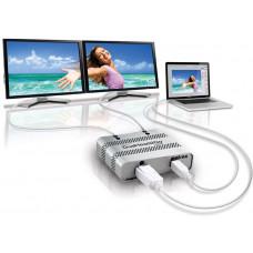 Коммутатор видеосигнала Matrox D2G-DP2D-MIF Dualhead2Go SE. Dual digital (DVI-D) display support