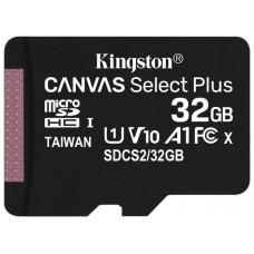 Карта памяти Kingston SDCS2/32GBSP 32GB microSDXC Class10 UHS-I