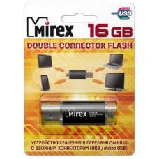 Флешка 16GB Mirex Smart OTG черная