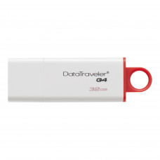 Флешка Kingston DataTraveler G4 32GB USB3.0 белый