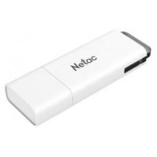 Флеш Диск Netac U185 8Gb <NT03U185N-008G-20WH>, USB2.0, с колпачком, пластиковая белая