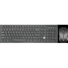 Беспроводная клавиатура+мышь Defender Columbia C-775 RU BLACK (45775)