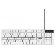 Клавиатура Гарнизон GK-200 белая USB