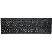 Клавиатура Oklick 880S черный USB slim Multimedia