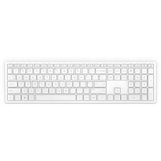 Клавиатура HP Pavilion 600 белый USB беспроводная slim