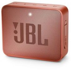 Колонка порт. JBL GO 2 коричневый 3W 1.0 BT/3.5Jack 730mAh (JBLGO2CINNAMON)