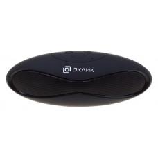Колонка порт. Oklick OK-10 черный 3W 1.0 BT/USB 5м (HS-828S)