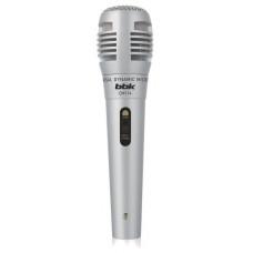 Микрофон проводной BBK CM114 серебристый