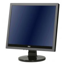 """Монитор AOC 17"""" e719sda(/01) серебристый TN+film LED 5ms 5:4 DVI M/M матовая 250cd 1280x1024 D-Sub H"""
