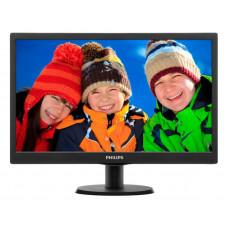 """Монитор Philips 19.5"""" 203V5LSB26 (10/62) черный TN+film LED 5ms 16:9 матовая 200cd 1600x900 D-Sub 2."""