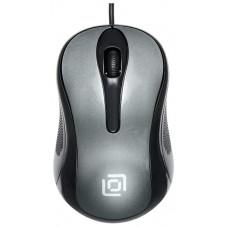 Мышь Oklick 385M черный/серый