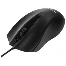 Мышь Гарнизон GM-115, USB, чип- Х, черный, 800 DPI, 2кн.+колесо-кнопка