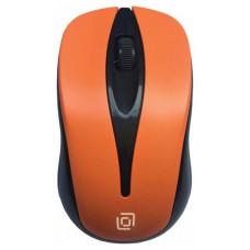 Мышь Oklick 675MW черный/оранжевый