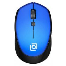 Мышь Oklick 488MW синий/черный беспроводная