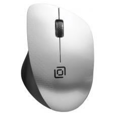 Мышь Oklick 695MW черный/серебристый