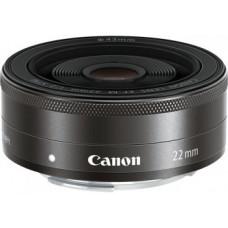 Объектив Canon EF-M STM (5985B005) 22mm f/2 Macro черный