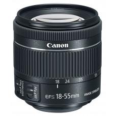 Объектив Canon EF-S IS STM (1620C005) 18-55мм f/4-5.6 черный
