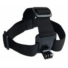 Держатель для экшн-камер Buro Head mount пластик/эластичная ткань для: GoPro
