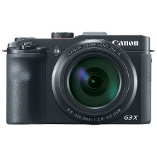 "Фотоаппарат Canon PowerShot G3 X черный 20.2Mpix Zoom25x 3.2"" 1080p SDXC/SD/SDHC CMOS IS opt 5minF r"