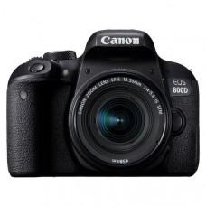 """Зеркальный Фотоаппарат Canon EOS 800D черный 24.2Mpix EF-S 18-55mm f/4-5.6 IS STM 3"""" 1080p Full HD S"""