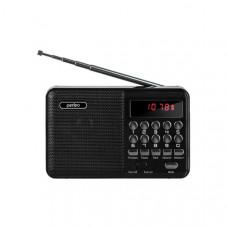Радиоприемник Perfeo Palm, usb, microSD, mp3, УКВ, FM, цифровой - черный