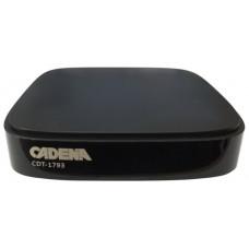ТВ-приставка DVB-T2 Cadena CDT-1793 черный