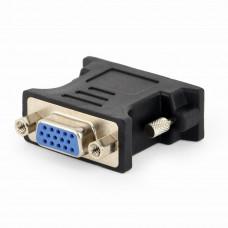 Переходник Gembird DVI - VGA черный