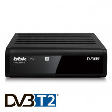 ТВ-приставка DVB-T2 BBK SMP025HDT2 черный