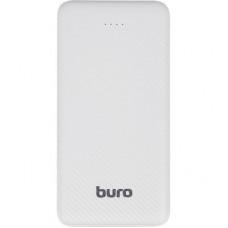 Мобильный аккумулятор Buro RLP-10000 Li-Pol 10000mAh 2A+2A белый 2xUSB