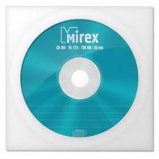 Диск CD-RW Mirex 700 Mb, 12х, Бум.конверт (1)
