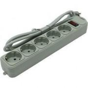 Сетевой фильтр Exegate SP-5-1.8G EX221173RUS (5 розеток, 1.8м, евровилка, серый)