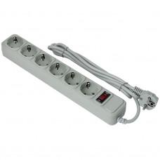 Сетевой фильтр Exegate SP-6-3G 6 розеток, 3м, евровилка, серый (EX119392RUS)