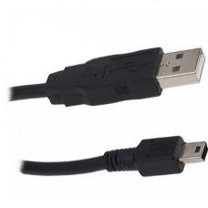 Кабель USB 2.0 Гарнизон AM/miniBM 5P, 1.8м