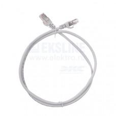 Коммутационный шнур (патч-корд) ITK PC01-C6F-1M кат.6 FTP, 1м, серый