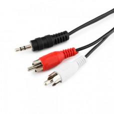 Кабель аудио Bion джек3.5 / 2x RCA , 1.2м